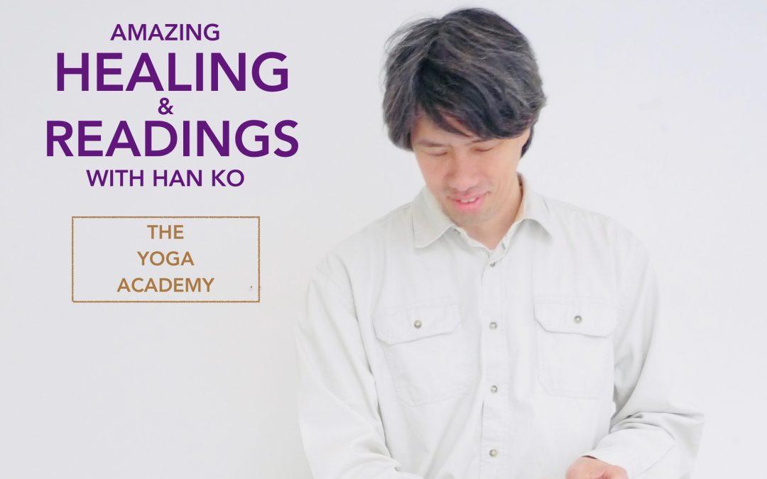 Speciale healing & readings met Han Ko