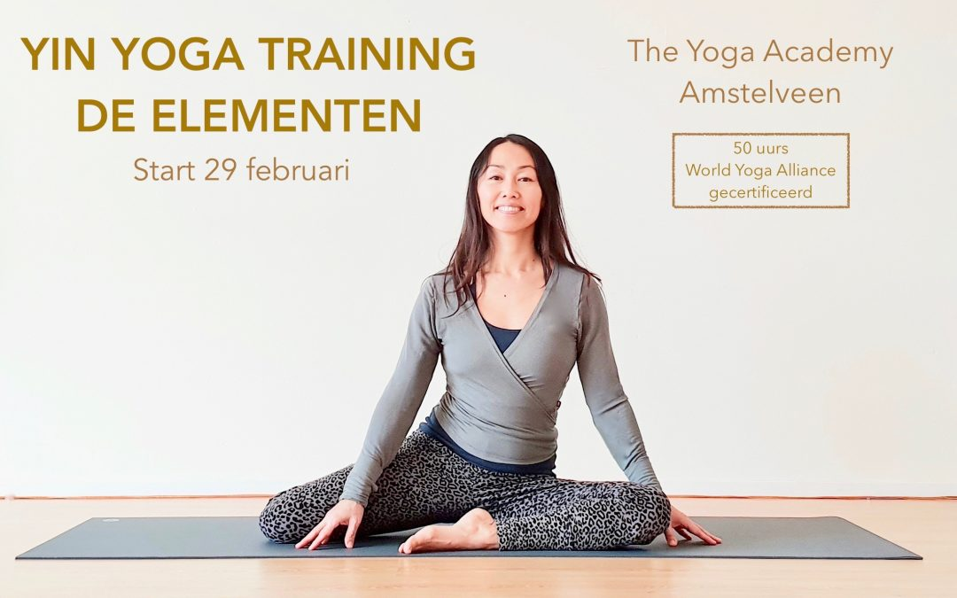 Yin Yoga Training (50 uurs) de Elementen