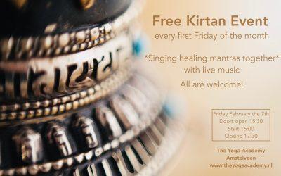 Free Kirtan Event – singing mantras together
