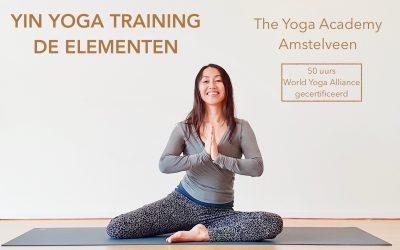 Yin Yoga Training (50 uurs) de Elementen